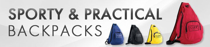 Landing Page - B - Backpacks