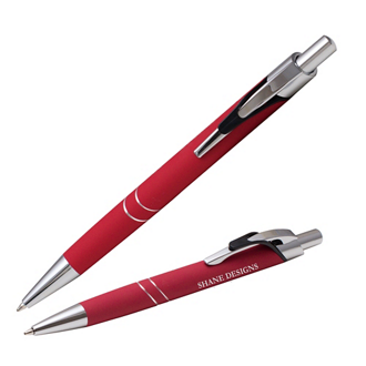 Customized Soft Touch Genesee Pen