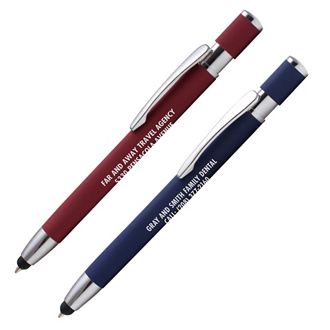 Customized Soft Touch Ethan Pen & Stylus Tip