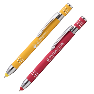 Customized Bright Soft Touch Maya Stylus Pen – Deluxe Refill