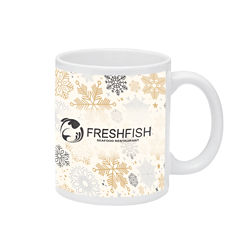 Customized Britebrand™ 11 oz. Ceramic Mug
