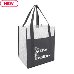 Customized Medium Boutique Non-Woven Tote with Pocket