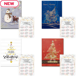 Customized Holiday Card with 4
