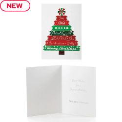 Customized Cheery Tree Holiday Card