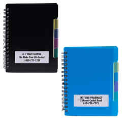 Customized Noteworthy Spiral Notebook with Dividers