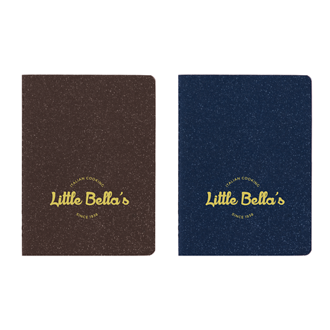 Customized Sparkler Soft Cover Notebook