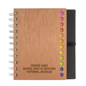 Customized Avery Spiral Notebook with Elastic Pen Loop