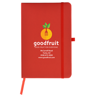 Customized Full Color Inkjet 5''x8'' Soft Touch Cate Notebook