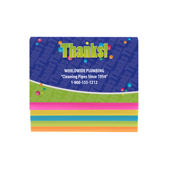 Customized Cascading Sticky Notes