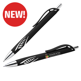 Customized Soft Touch Iris Tribal Grip Pen