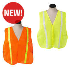 Customized Safety Vest with Reflective Stripes