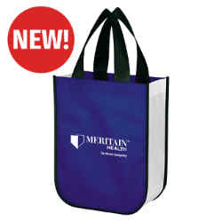 Customized Little Shiny Non-Woven Shopper Tote Bag