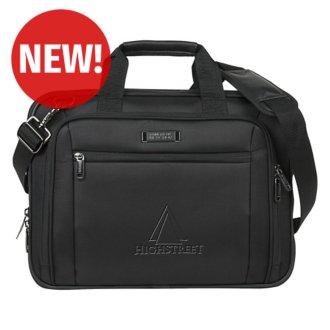 Customized Kenneth Cole® EZ-Scan Single Gusset Laptop Case