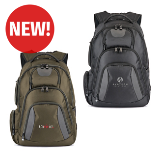 Customized Basecamp® Concourse Laptop Backpack
