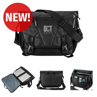 Customized Basecamp® Jetway Laptop Messenger