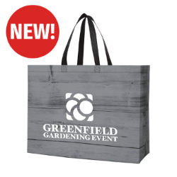 Customized Chalet Laminated Non-Woven Tote Bag