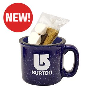 Customized 15 oz. Camping Mug S'mores Kit