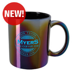 Customized 11 Oz. Good Value™ Vibrant Iridescent Mug