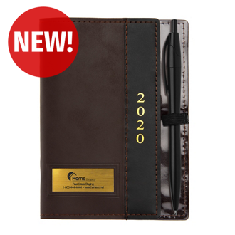 Customized Front Liner Weekly Planner with Pen Loop