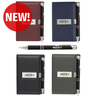 Customized Nifty Notepad and Paragon Pen Set