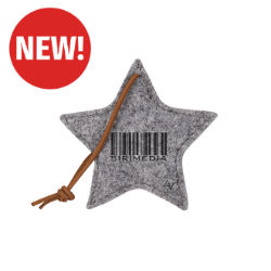 Customized Recycled Felt Star Ornament