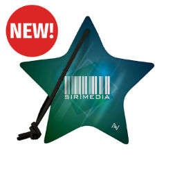 Customized Recycled Full Colour Felt Star Ornament