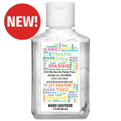 Customized Britebrand™ 2 oz. 70% Alcohol Antibacterial Hand Sanitizer