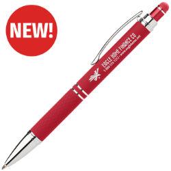 Customized Bright Soft Touch Diamond Stylus Gel Pen