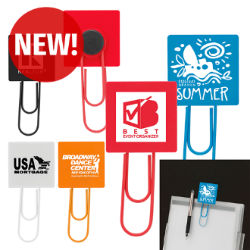Customized Jumbo Magnet Paper Clip