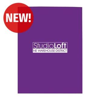 Customized Good Value™ Gloss Paper Folder
