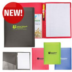 Customized Letter Size Folder w/Writing Pad