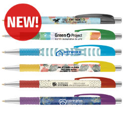 Customized Full Colour Colourama Pen with Textured Grip