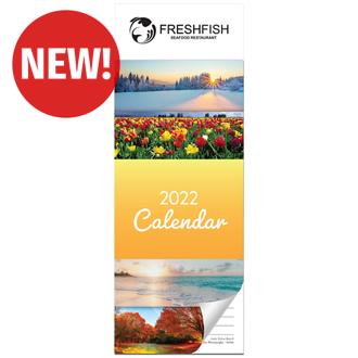 Customized Britebrand™ Magnetic Calendar Pad