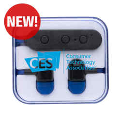 Customized Wireless Earbuds in Square Case