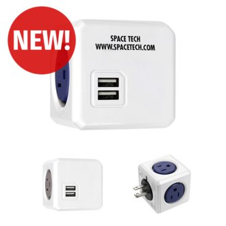 Customized BIC Graphic® Power Cube™ Original USB Adapter