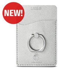 Customized Leeman™ Shimmer Metal Ring Phone Stand Card Holder