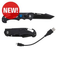Customized KOOZIE® Kamp Knife with LED Flashlight