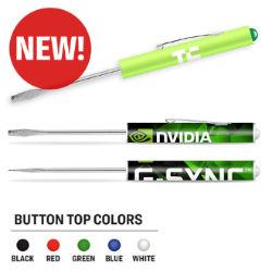Customized Full Colour Pocket Partner™ Fixed Blade Screwdriver
