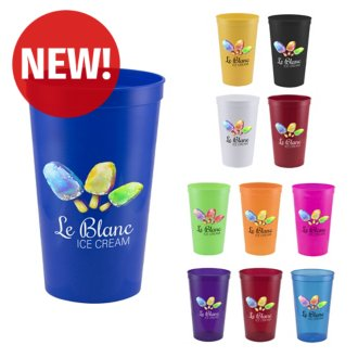 Customized 22 oz Pitcher Stadium Cup - Full Color Inkjet