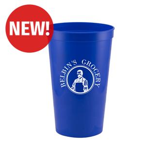 Customized Power Pitcher Stadium Cup - 22 oz