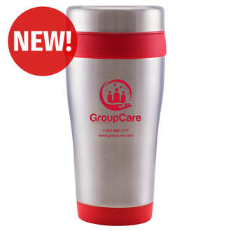 Customized Stainless Steel Travel Tumbler - 16 Oz