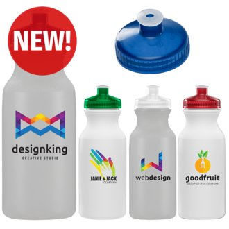 Customized Speed Seeker Bike Bottle 20 oz - Full Color Inkjet