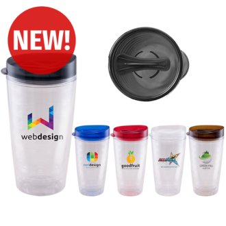 Customized 16 oz Verano Clear Tumbler - Full Color Inkjet