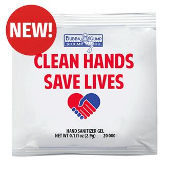 Customized Antibacterial Hand Sanitizer Gel Packet