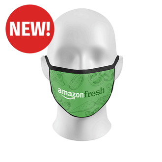 Customized Full Color 3-Layer Reusable Face Mask