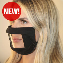 Customized 2-Layer Mask with Anti-Fog Window