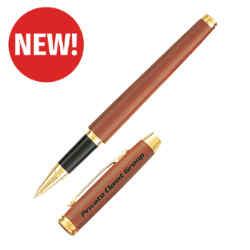 Customized Woodlot Genuine Rosewood Rollerball Pen