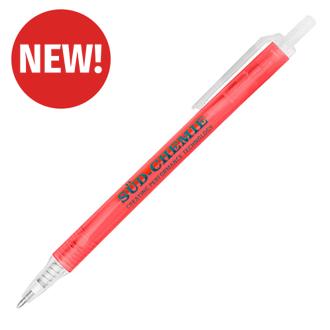 Customized Translucent Amber Pen