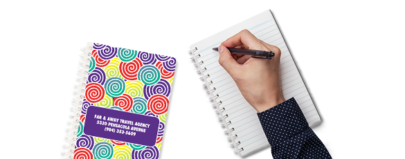 Create custom notepads
