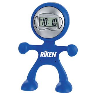 Customized The Flex Man Digital Clock
